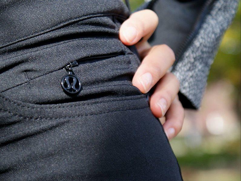 4c552294d lululemon black everyday pants commuter - Agent Athletica