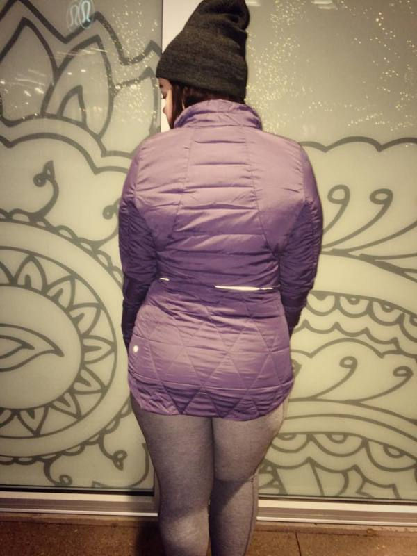 Lululemon nightfall fluffed up jacket