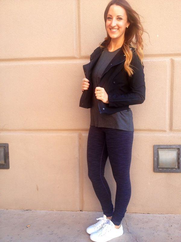Lululemon black seize the day jacket