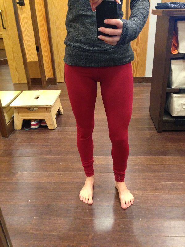 80ec8f12b2 Lululemon try-on review deepest cranberry wunder under pants - Agent ...