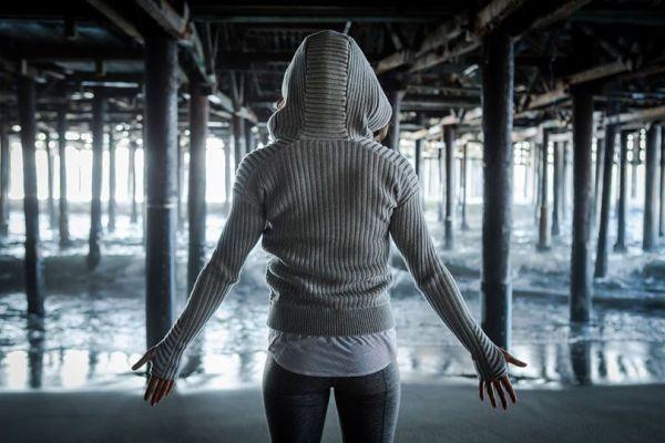 Lululemon heathered light grey embrace hoodie