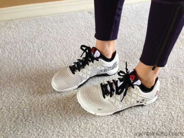 Reebok porcelain black white CrossFit nano 4.0