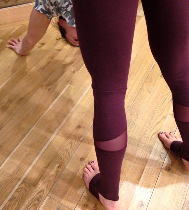 Lululemon bordeaux drama black cherry devi yoga pants - Agent Athletica fc24aeab0a221