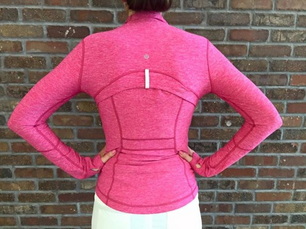 Lululemon heathered jeweled magenta define jacket
