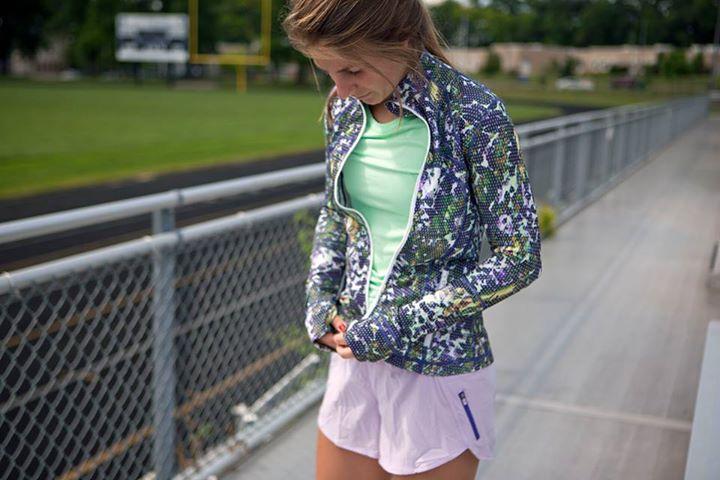 Lululemon Floral Sport Define Jacket Agent Athletica