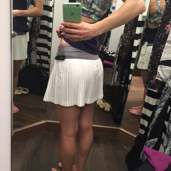 Huge booty skirt