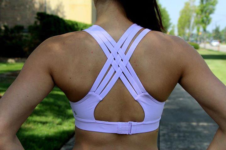 0a82fafa04 Lululemon pretty purple adjustable all sport bra strappy special edition