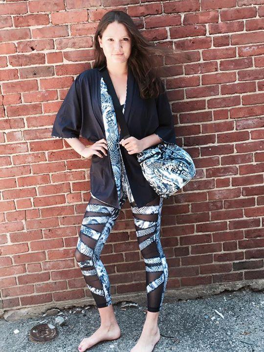 Lululemon wanderlust 2015 casbah kimono diversity bag highest times mesh pants