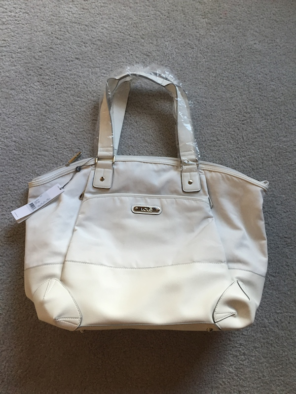Lole haanji bag white review 1