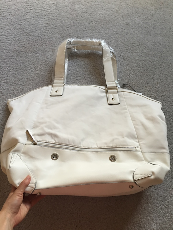 Lole haanji bag white review 10