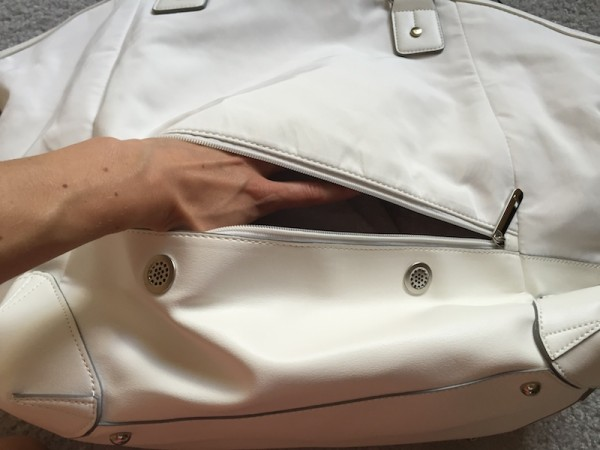 Lole haanji bag white review 11