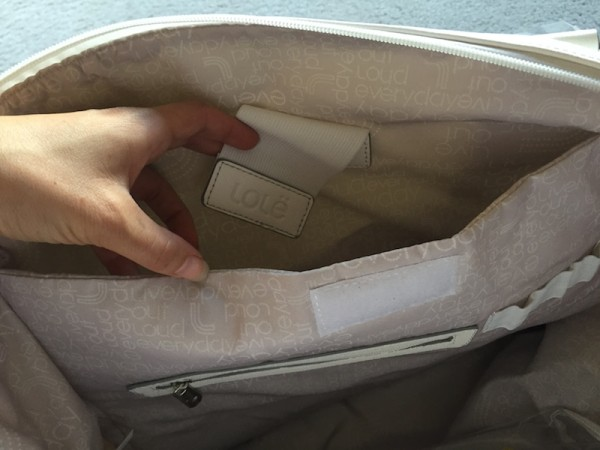 Lole haanji bag white review 7
