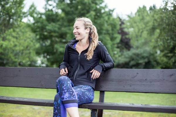 Lululemon black sweaty or not jacket iris flower floral sport backdrop sweaty or not crops
