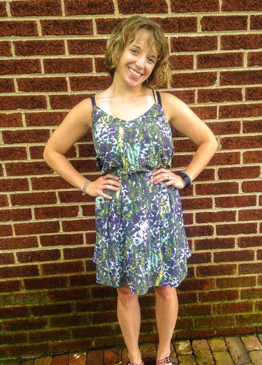 Lululemon floral sport city summer dress