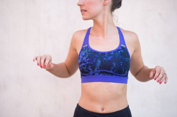 Lululemon iris flower floral sport backdrop sweaty or not bra