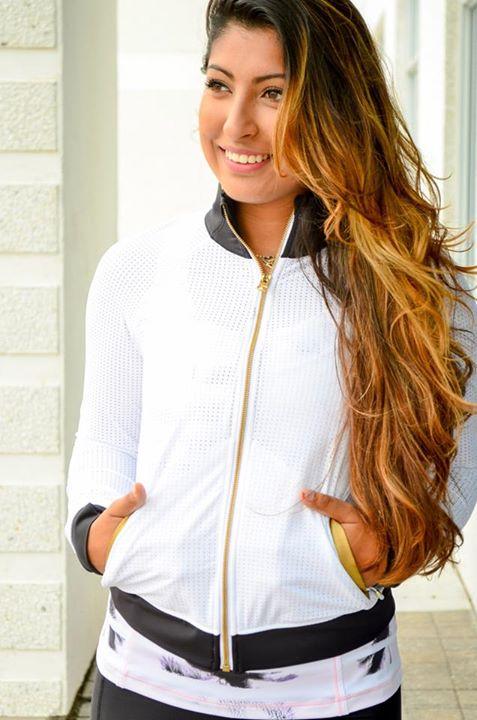 Lululemon white sweaty or not jacket