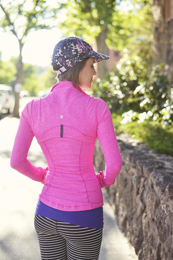 Lululemon heathered paris pink define jacket 2