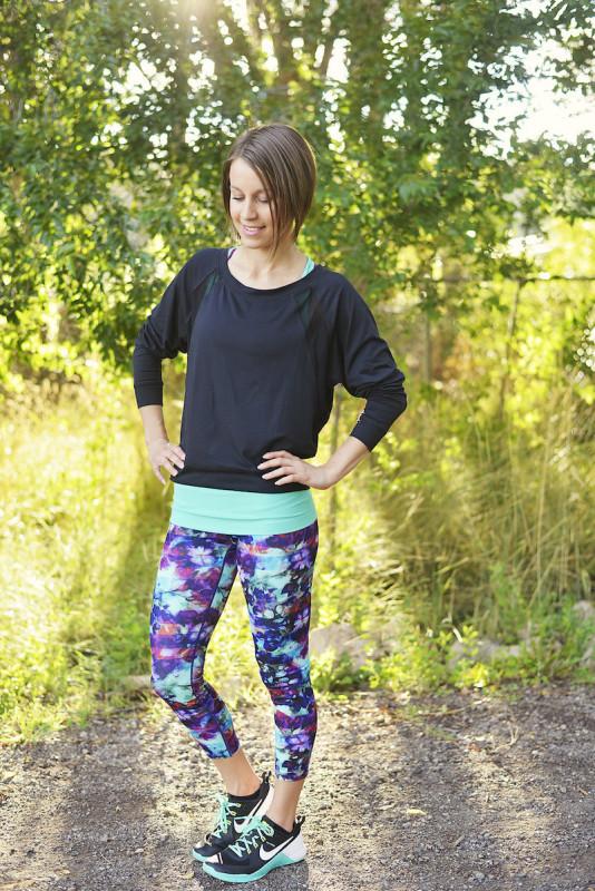 Alala + Athleta workout outfit