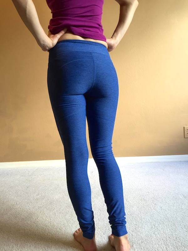 74eb8490a915c Outdoor Voices Warmup Legging Review - Agent Athletica