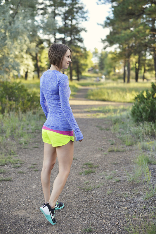 Fall running outfit by lululemon