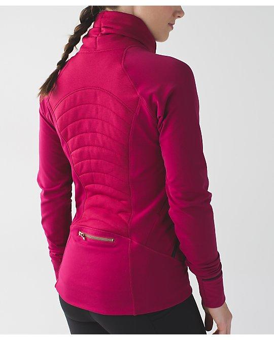 Lululemon berry rumble fleece out jacket