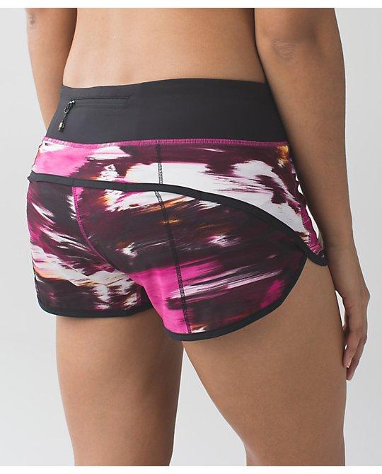 Lululemon pigment wind berry rumble speed shorts
