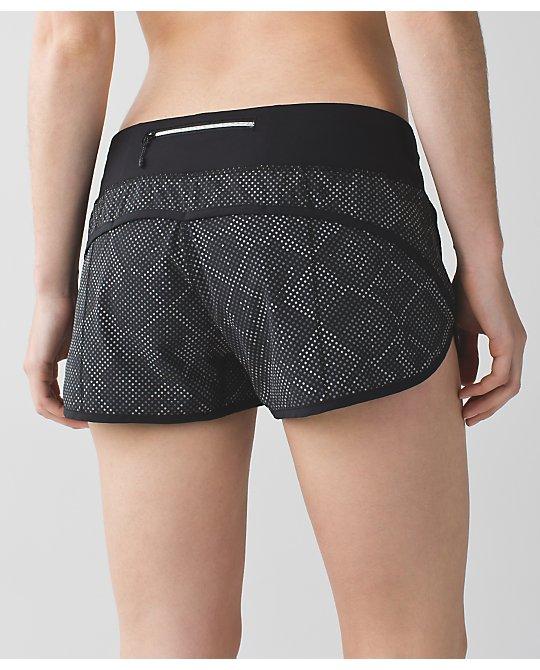 Lululemon ravish reptile reflective speed shorts