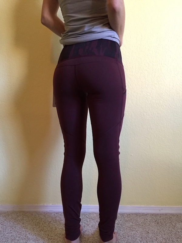 Lululemon toasty tech tights review bordeaux drama 4
