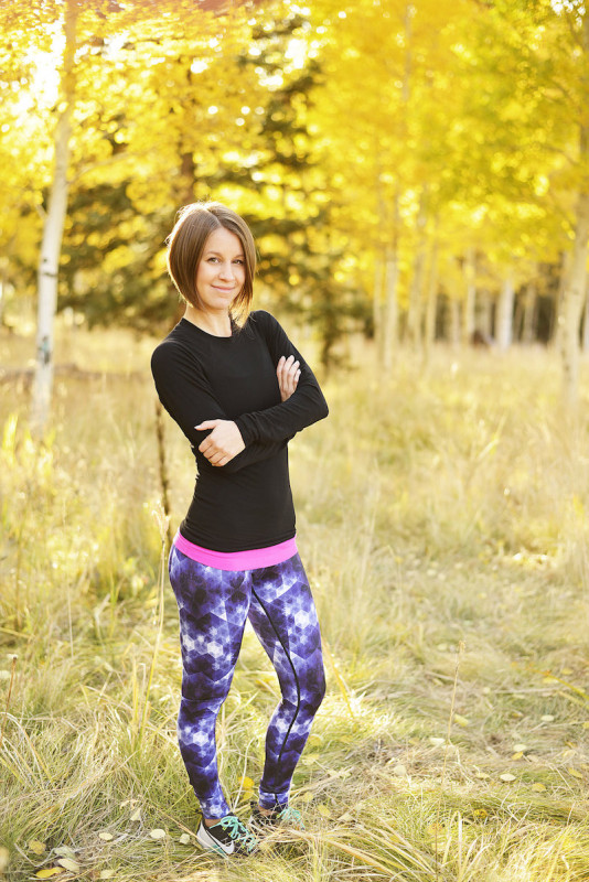 Printed leggings for fall