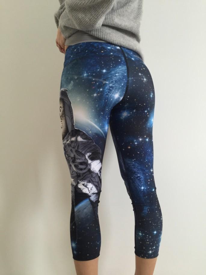 Ghost and Stars x Werkshop catstronaut crop tights