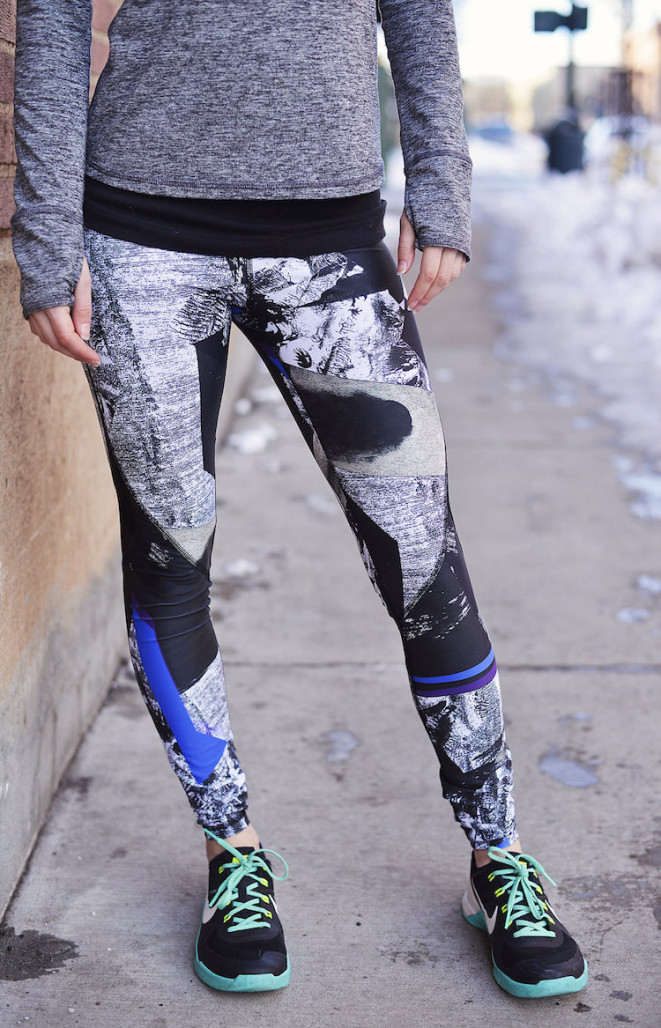Alala blueprint captain ankle tights review