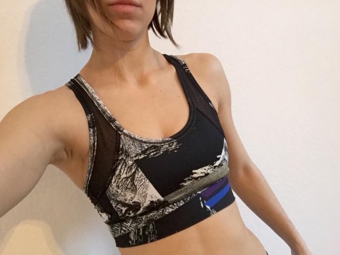Alala blueprint zip it up bra