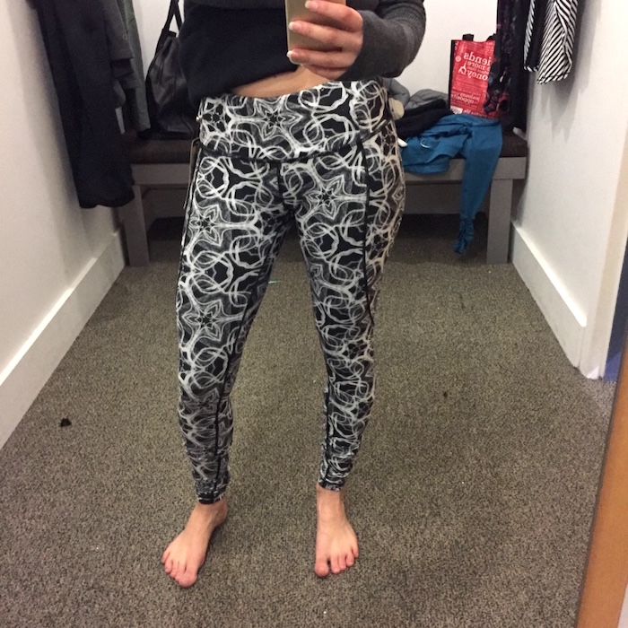 51cf65bc58112 Calia by Carrie charcoal geo essential printed leggings review 1
