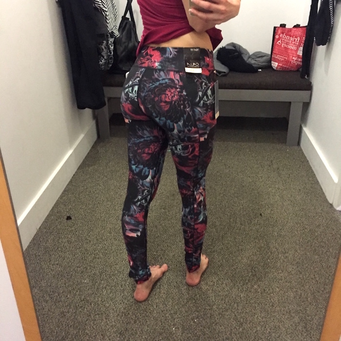 d7371cf87197f Calia by Carrie dark and stormy essential printed leggings review 3