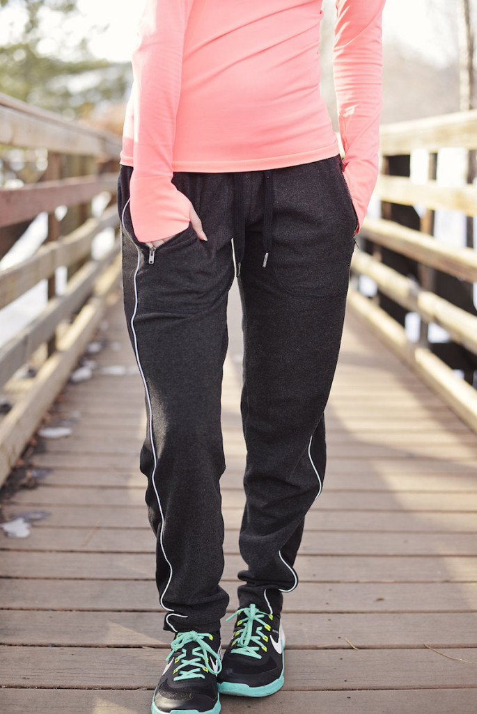 Sweat pants with style