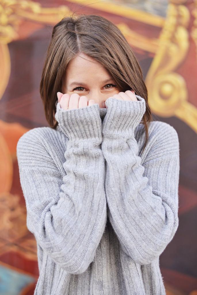Cozy sweater love
