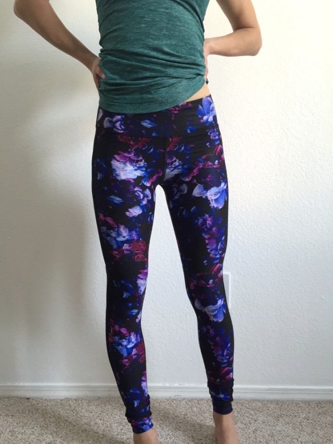 Nimble Activewear amelia tights in dahlia review 1