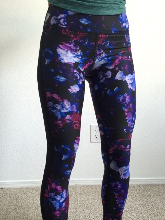 Nimble Activewear amelia tights in dahlia review 4