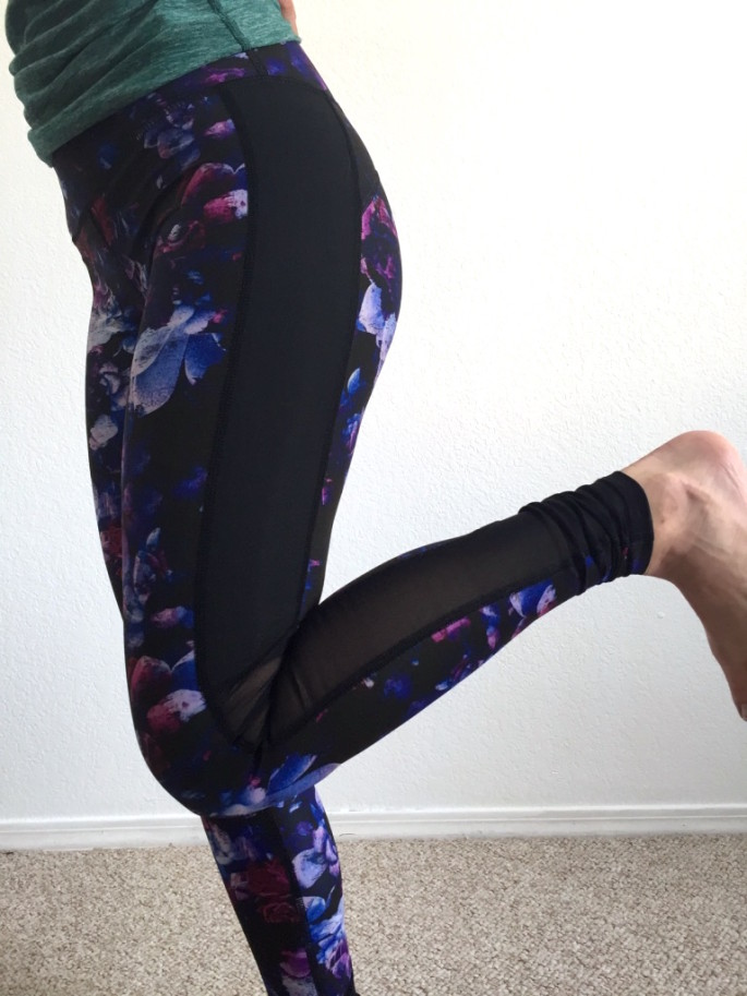 Nimble Activewear amelia tights in dahlia review 5