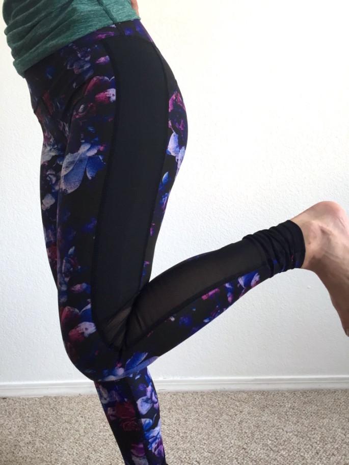 Nimble Activewear amelia tights in dahlia review 5