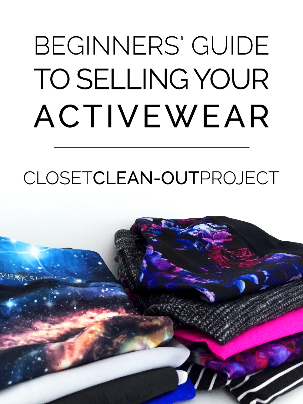 Sell Used Clothes Online >> Closet Clean-Out: How to List Your Activewear on eBay ...