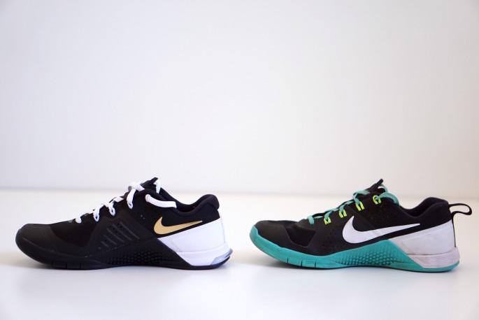 Nike Metcon 1 versus Metcon 2