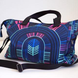 Mara Hoffman Active Review: Botanica Leggings + Gym Bag