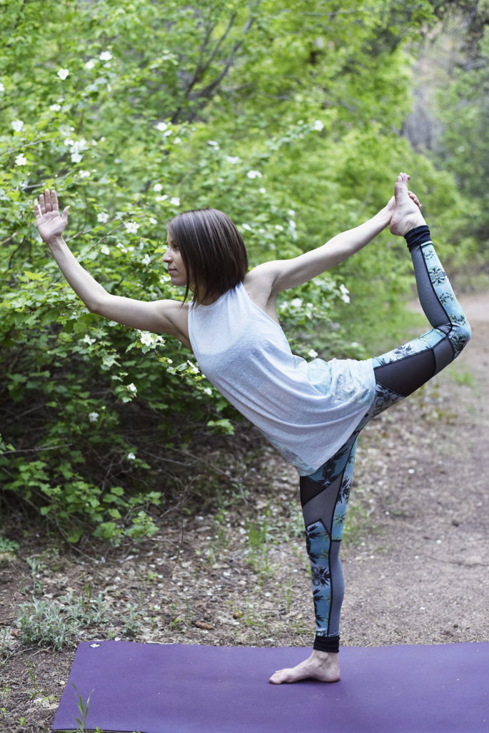 Breezy yoga outfit