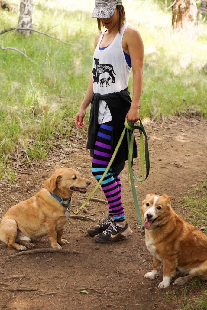 K-Deer Jamie stripe leggings