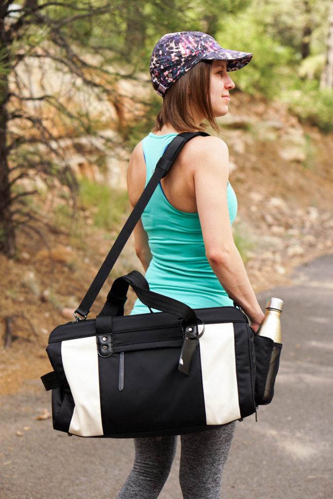 Persu Collection Jessica bag black creamy white review