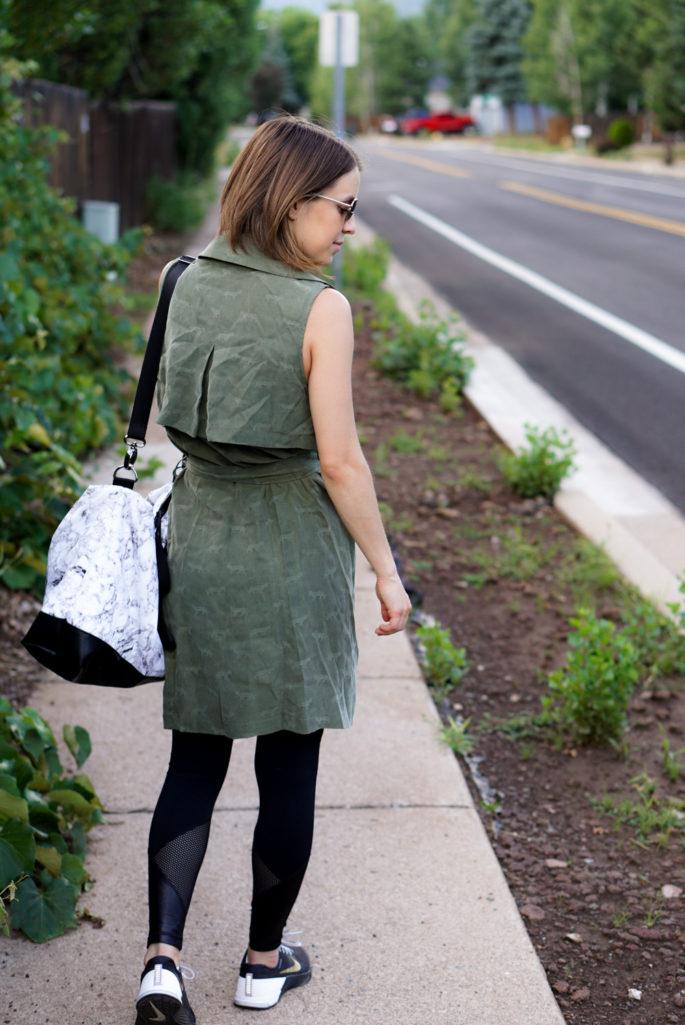 Safari-inspired trench vest