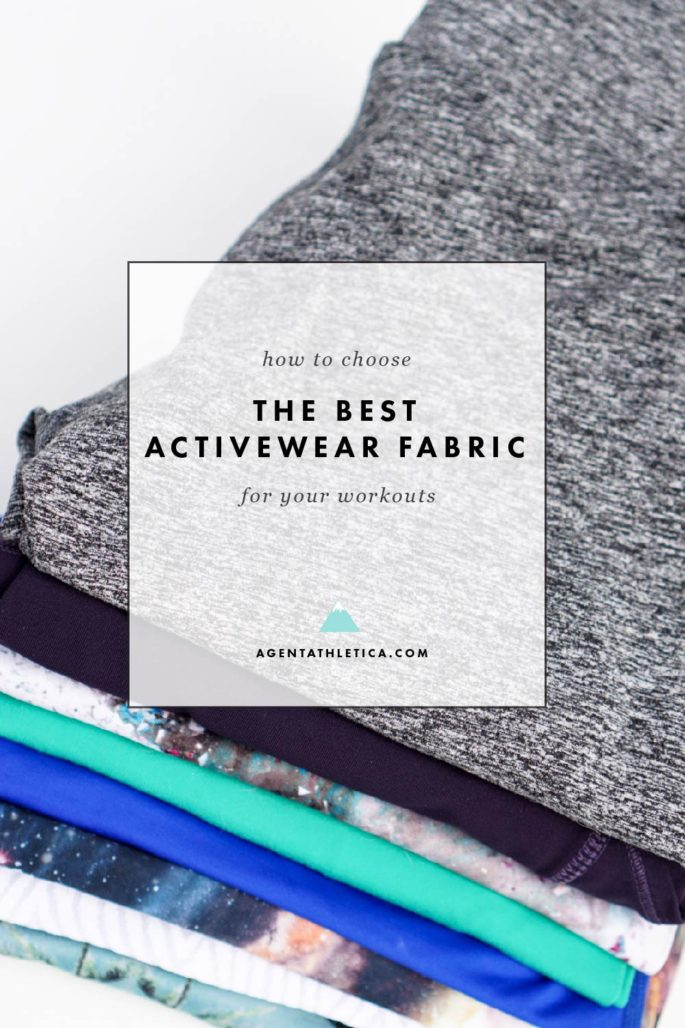 Tips and tricks for finding the best activewear fabric you'll love to get sweaty in