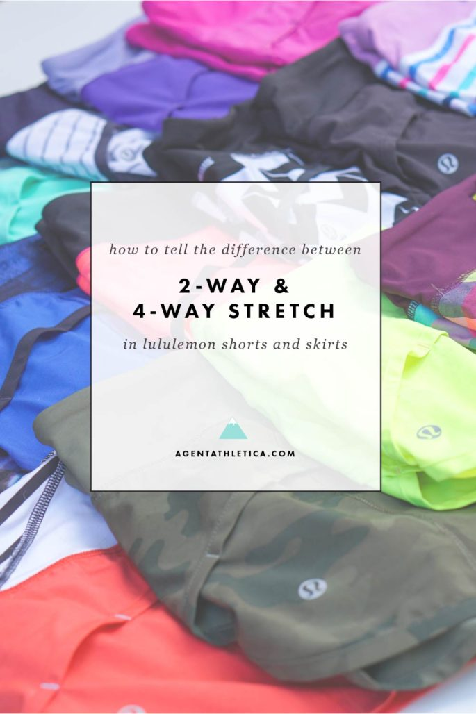 What's the difference between lululemon's 2-way and 4-way stretch? Here's the answer.