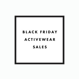 Black Friday + Cyber Monday Active Fashion Sales!